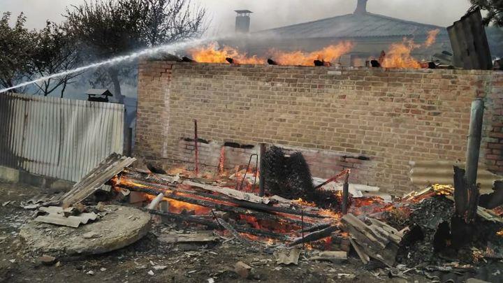 Под Ростовом-на-Дону за день в пожарах погибли два человека