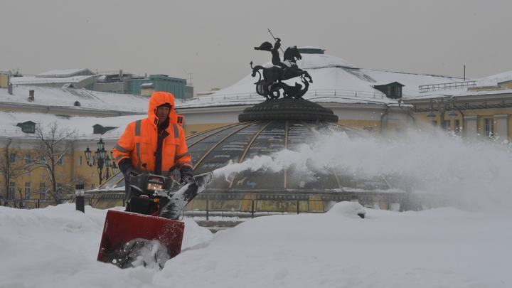 Как продать снег зимой: Уборку улиц Москвы в зимнее время оценили в сумму 3,9 млрд рублей