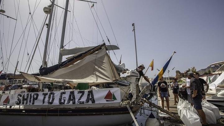 «Флотилия свободы» опять не дошла до сектора Газа