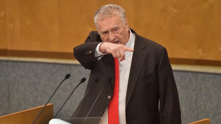 Голкипер, да вы что? : Жириновский поддержал отказ от англицизмов на ТВ