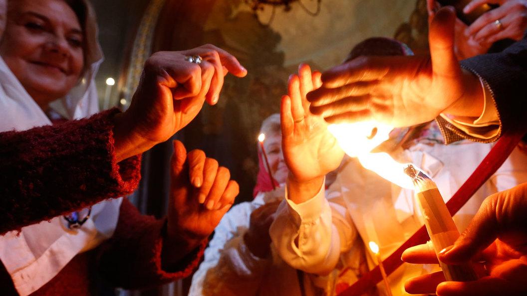 Схождение Благодатного Огня: ОНЛАЙН-ТРАНСЛЯЦИЯ