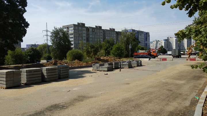 На улице Василисина во Владимире закончена реконструкция теплотрассы