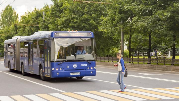 В Москве хулиганы расстреляли пассажирский автобус