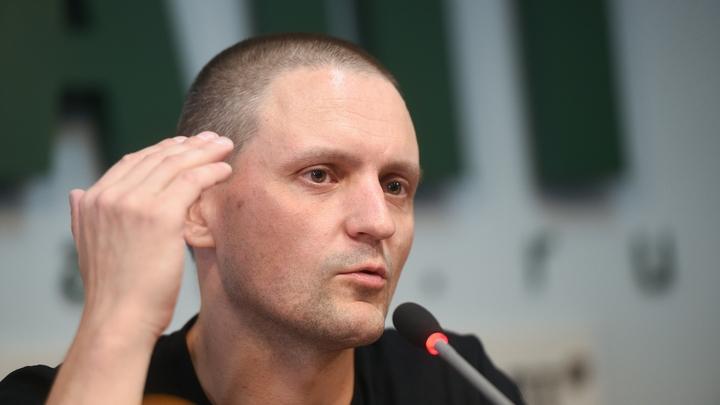 Удальцова и Лимонова задержали на гуляниях в центре Москвы