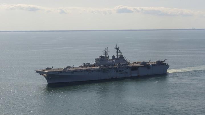 Списанные в утиль военные фрегаты США были вынуждены снова встать в строй