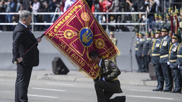 В день рождения Порошенко получил от солдатских матерей Украины пожелание импичмента