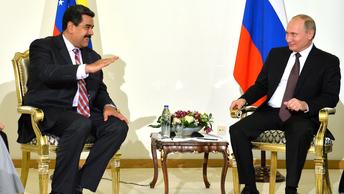 Мадуро не пожалел эпитетов для описания встречи с Путиным
