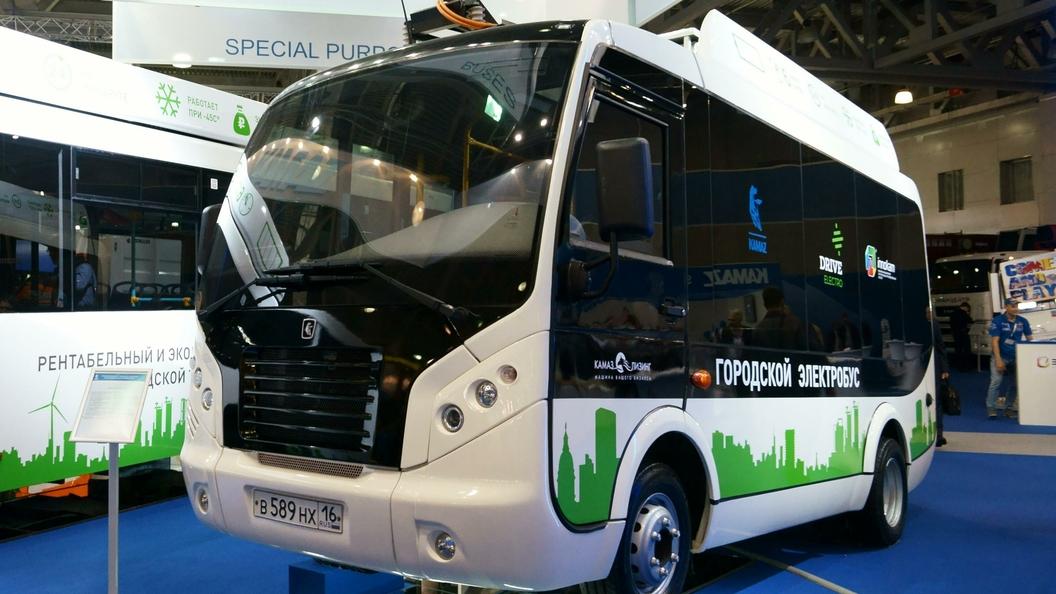 В столицеРФ первые 300 электробусов будут вмещать по85 пассажиров