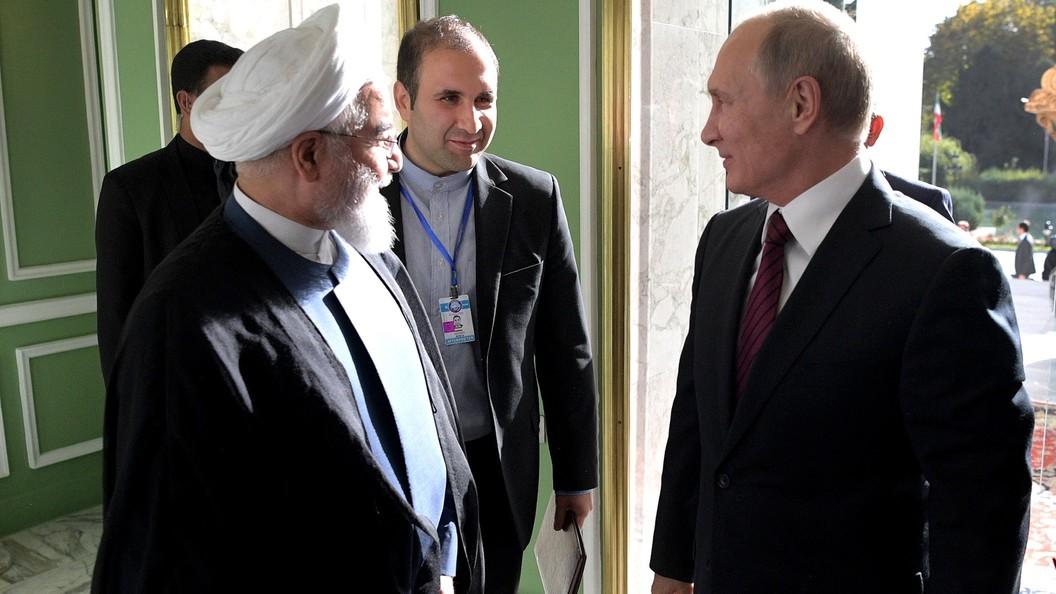 Водители Тегерана устроили кортежу Путина громкий прием