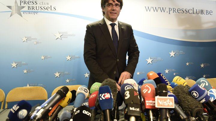 Власти Испании готовятся посадить Пучдемона на 30 лет
