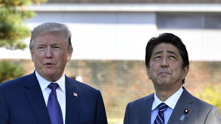 Трамп упрекнул страну самураев в том, что она не сбивала ракеты КНДР