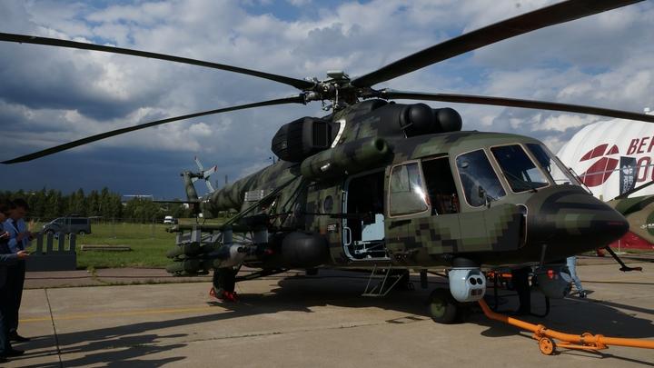 Россия поставит партию боевых вертолетов Ми-17В-5 в Таиланд