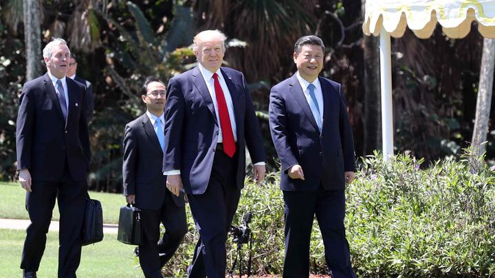 В Китае визиту Трампа предрекли исторический успех