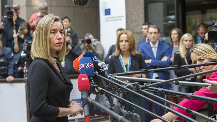 Могерини поддержала работу ООН-ОЗХО по расследованию химатак в Сирии