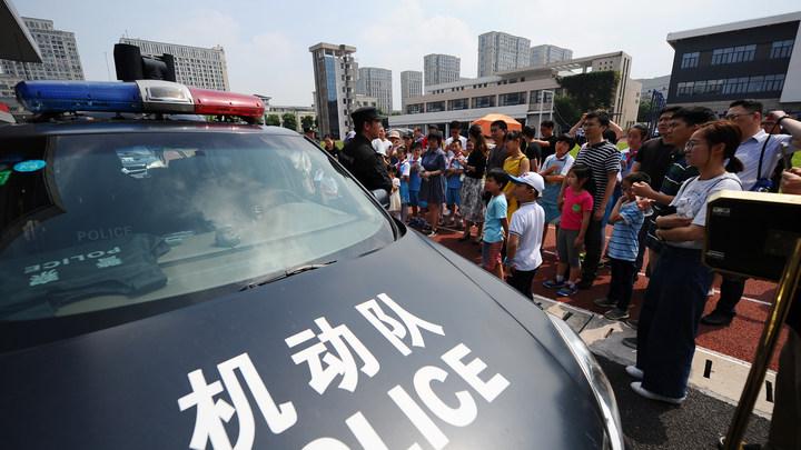 В Китае на скоростном шоссе столкнулись более 30 автомобилей