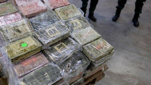 В Колумбии конфисковали самую большую в истории партию кокаина