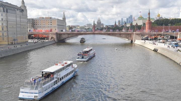 К ЧМ-2018 на Москве-реке запустят яркие речные трамвайчики-кабриолеты
