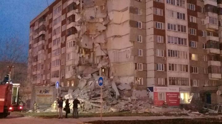 Очевидец рассказал, как погиб ребенок при обрушении дома в Ижевске