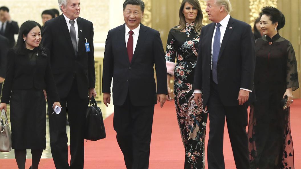 Трамп поведал освоем визите в КНР