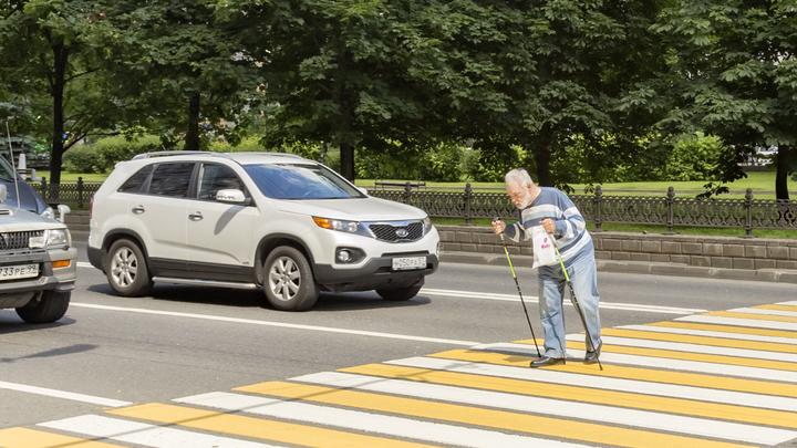 В России вступили в силу увеличенные штрафы за непропуск пешеходов