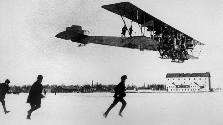 Первым в мире пассажирским самолётом был русский «Руссо-Балт»: Пора возвращать великую историю