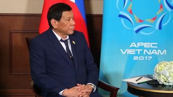 Президент Филиппин похвалил Трампа: Он - хороший президент