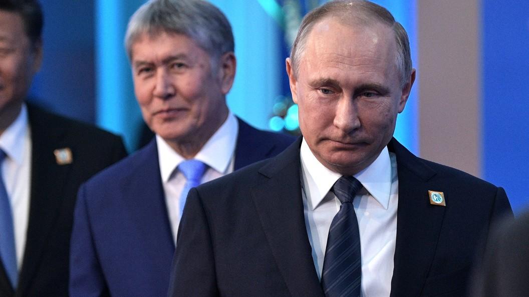 Россия простила Киргизии все долги