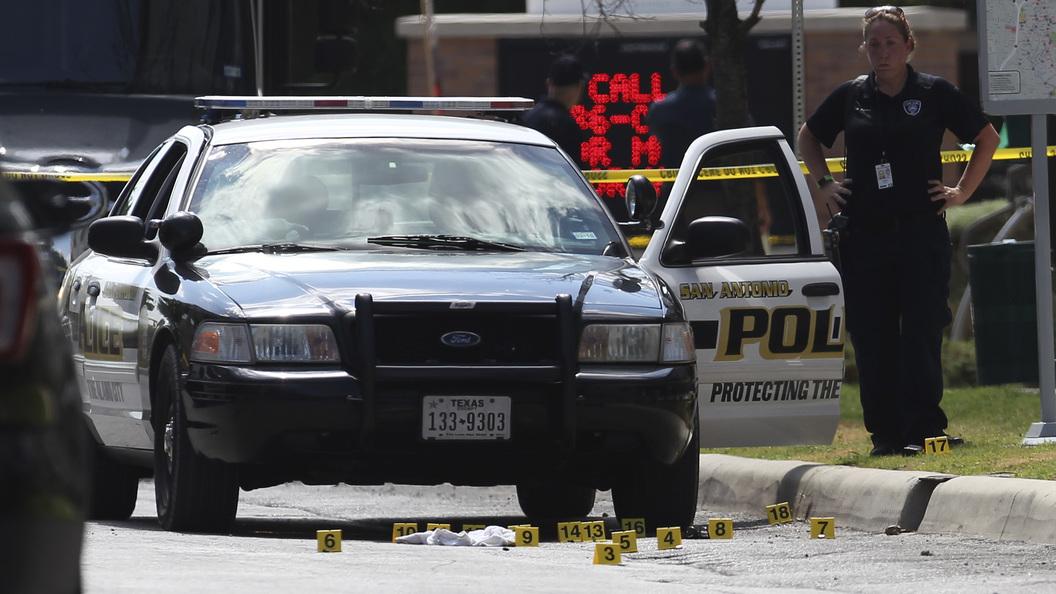 В США у вербовочного центра ВВС произошел взрыв