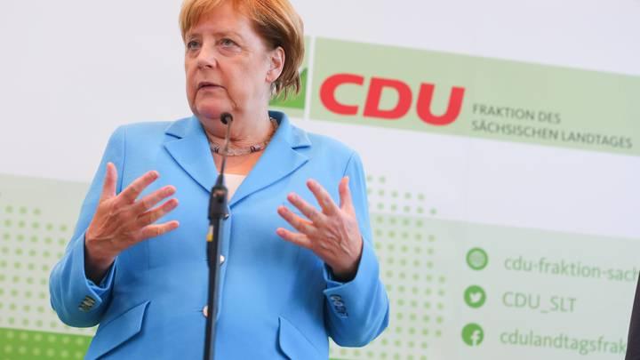 Меркель: На переговорах с Путиным будем говорить не только о Cирии и Украине