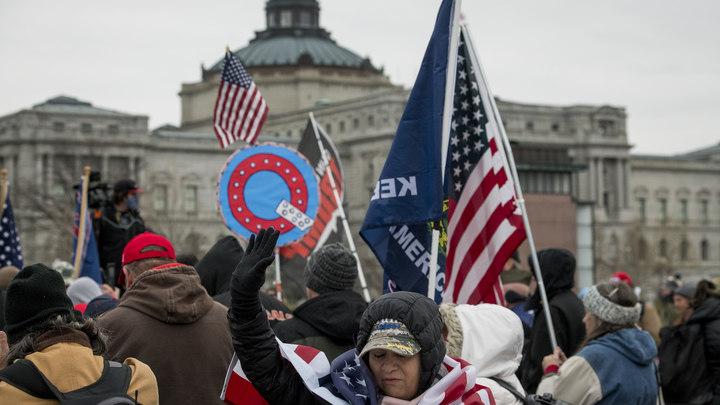 Сакральная жертва принесена: В ходе протестов в Вашингтоне погибла женщина-ветеран