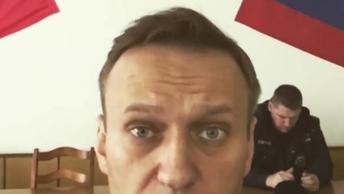 Не отбивайте меня у полиции: В Москве задержан Алексей Навальный