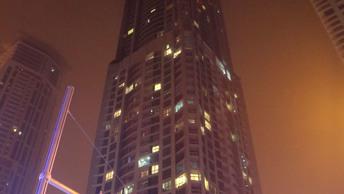 Опубликовано видео пожара в небоскребе Torch в Дубае