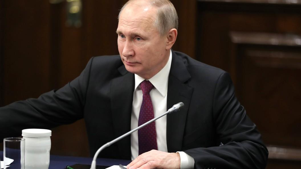 Путин предложил воплотить общенациональную программу поборьбе сонкозаболеваниями