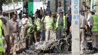 В центре Могадишо рядом с больницей взорвался автомобиль
