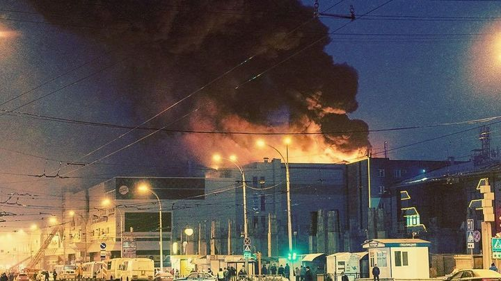 По делу о пожаре в ТЦ Кемерова задержали четырех человек