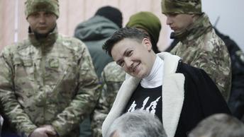 СБУ заставила Савченко «общаться» с детектором лжи