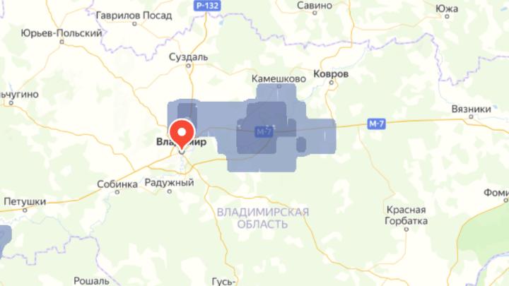 На Владимирскую область идет грозовая жара с градом