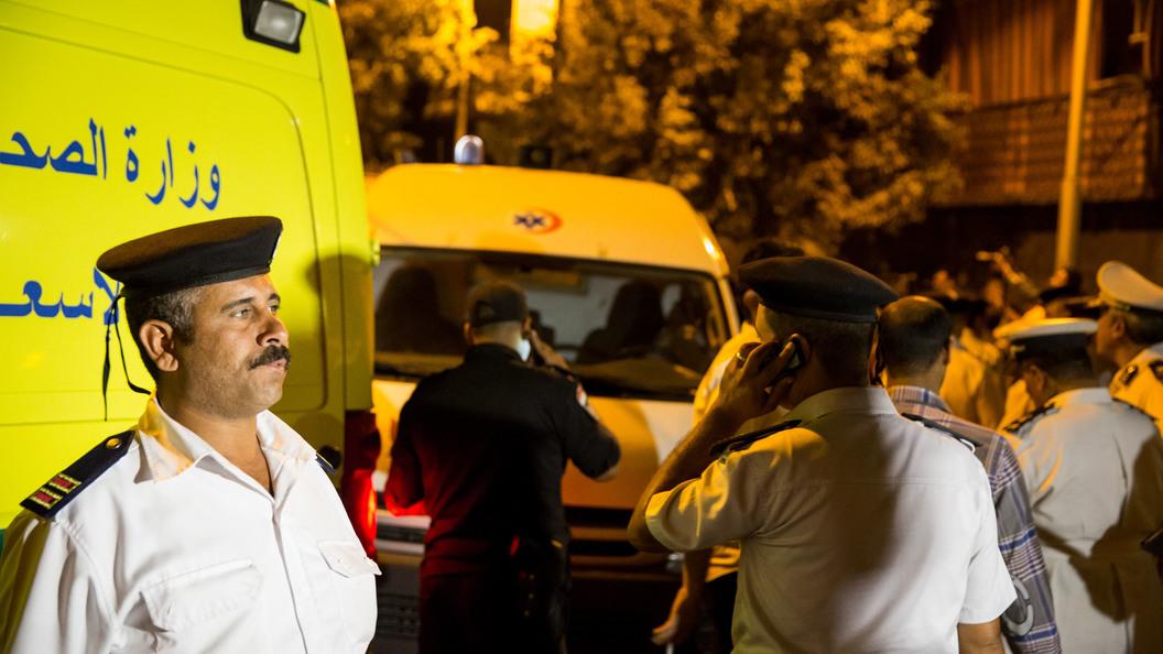 Автобус с туристами перевернулся в египетском Шарм-эш-Шейхе