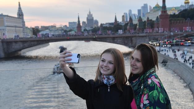 Москва стала второй в рейтинге самых фотографируемых городов в мире