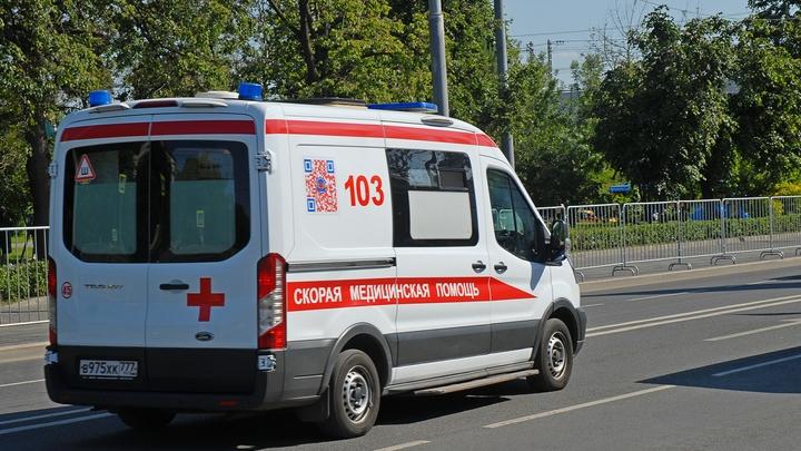 Массовое ДТП в Москве: Столкнулись автобус и грузовики. Есть погибший и раненые