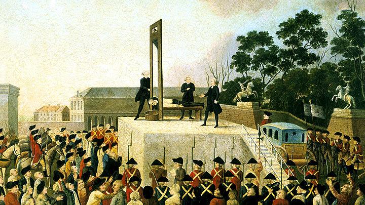 Жестокая революция и кровавая республика: Казнь Людовика XVI