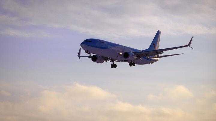 В США власти посадили самолёт из-за нелегальной пассажирки