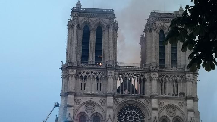 Средства на восстановление  собора Парижской Богоматери соберут в России