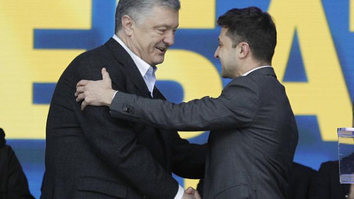 Порошенко обошёл Зеленского по голосам. Но только за границей