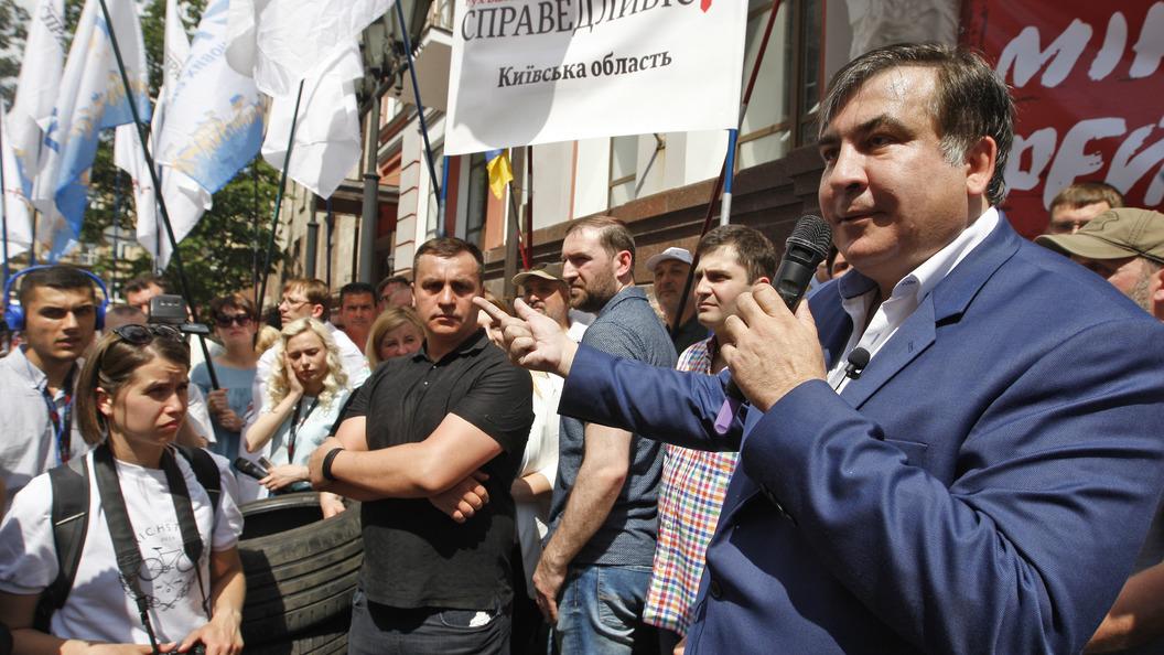 Генпрокуратура Украины пообещала не пускать Саакашвили в страну без визы