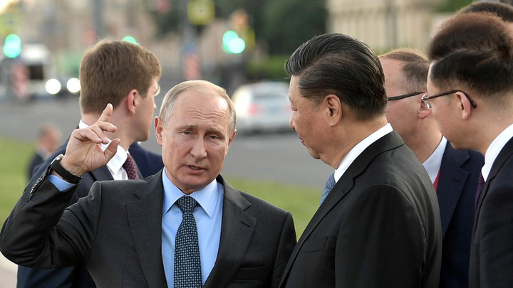 От наших отношений с Китаем зависит безопасность мира: Путин объяснил, на стороне какого из тигров умная обезьяна