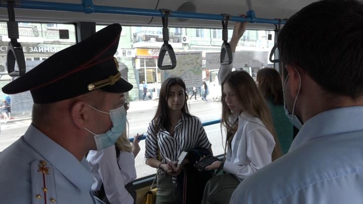 Выйдите вон: В Ростове и Новошахтинске устроили облаву на нарушителей масочного режима