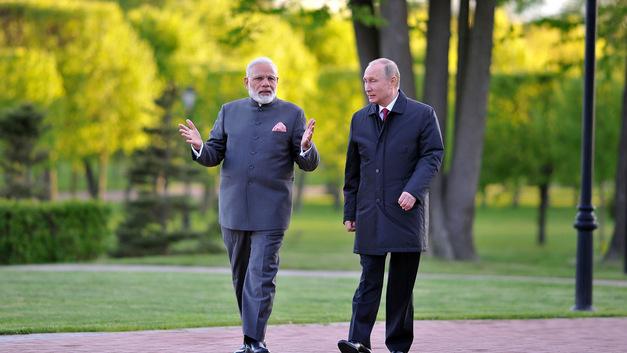 Путин напомнил Индии об особом стратегическом партнерстве