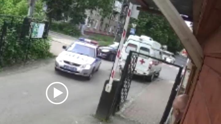 Полицейские в Подмосковье спасли 2-летнего ребенка