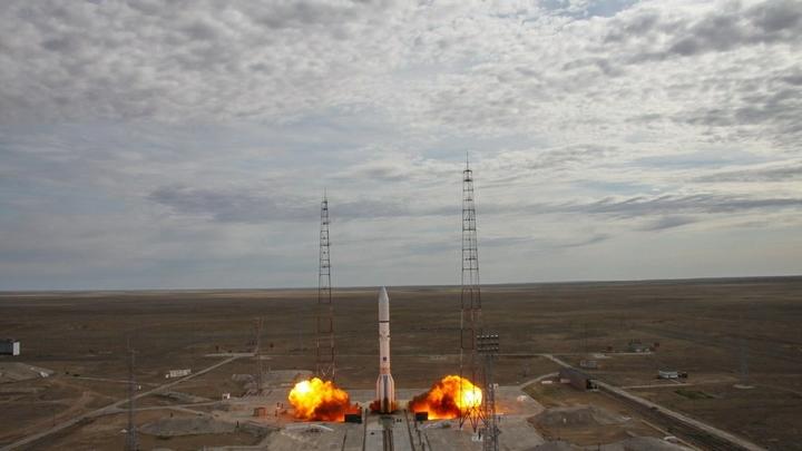 Минобороны: Пуск Протона-М с военным спутником с Байконура прошел штатно